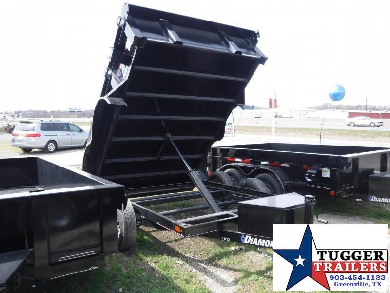 2018 Diamond C Trailers 77x10 10ft 41ED Dump Trailer