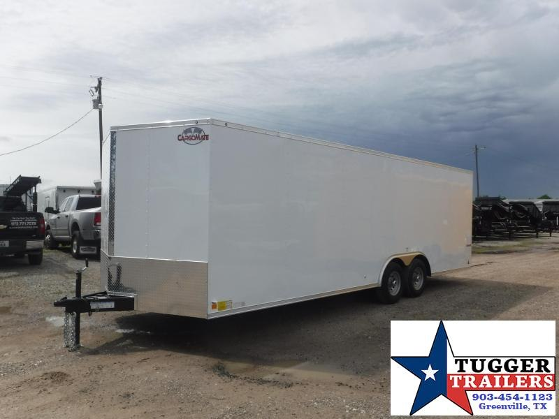 2019 Cargo Mate 8.5X24 24FT Ramp Enclosed Cargo Tandem Axle Trailer