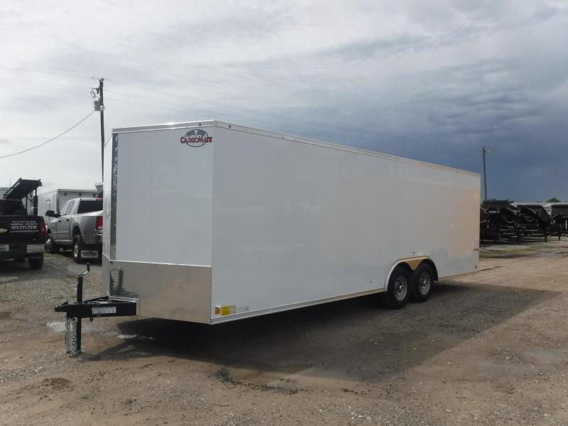 2019 Cargo Mate 8.5X24 24FT Ramp Enclosed Cargo Trailer