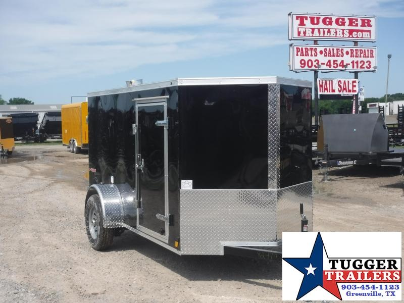 2020 Cargo Mate 5x10 10ft E-V Double Door Enclosed Cargo Trailer