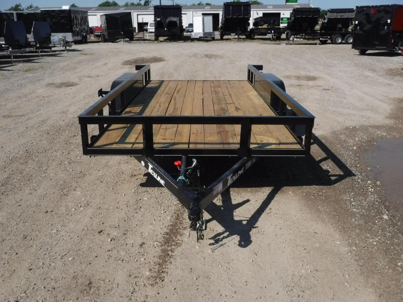 Texline Trailers 77 x 16 Patriot TA Equipment Trailer