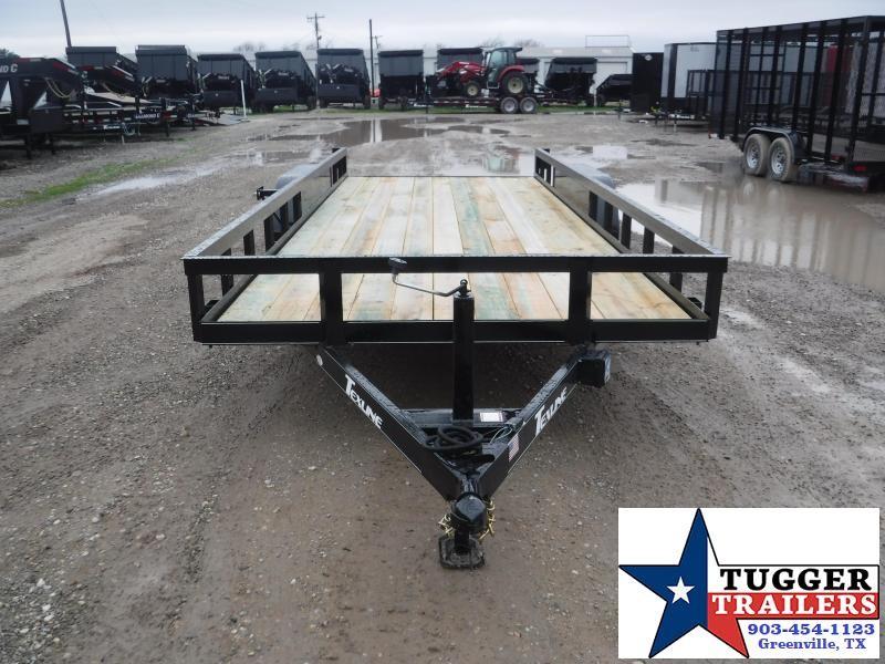 2019 TexLine 83X20 20ft Utility Trailer