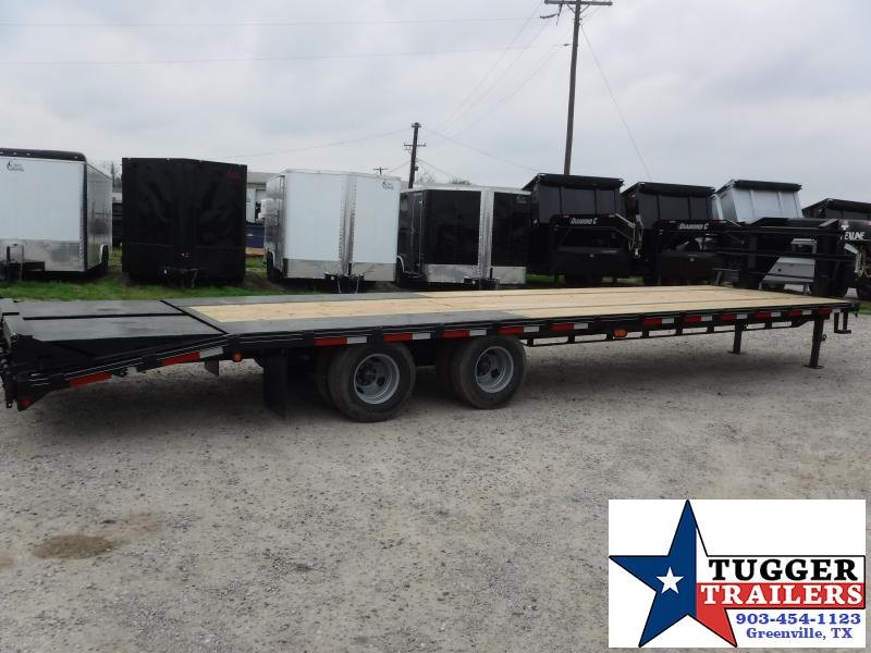 2018 TexLine 102 x 32 Tandem Dual GN Equipment Trailer