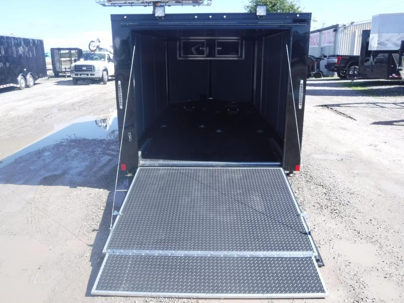 2019 Cargo Mate Trailers 7 X 14 Blazer Enclosed Cargo Trailer