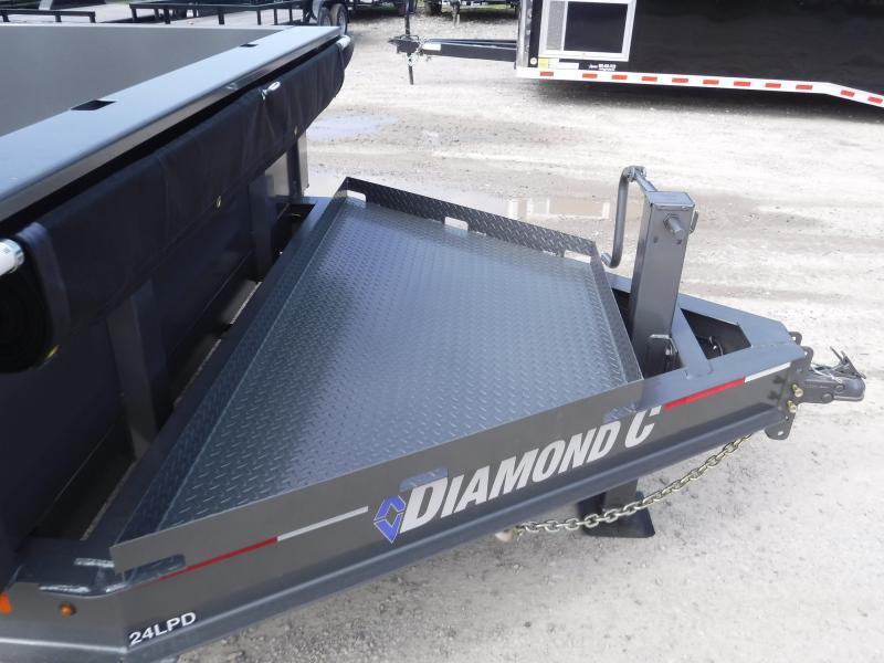 2019 Diamond C Trailer 82 x 14 24LPD Dump Trailers