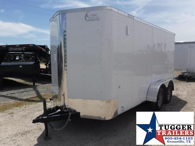 2019 Cargo Craft 6x14 14ft Double Door Tandem Axle EV Sport Enclosed Cargo Trailer