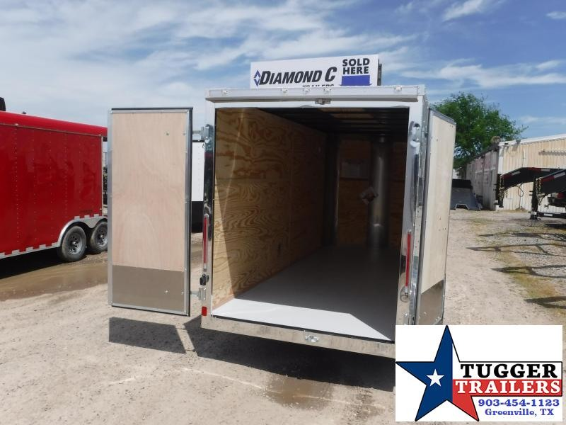 2019 Cargo Craft 6x14 14ft Double Door Tandem Axle EV Sport Enclosed Cargo Trailer