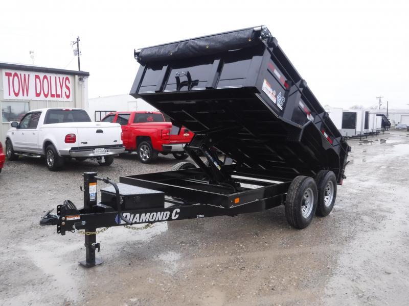 2018 Diamond C Trailer 82 x 12 21WD Dump Dump Trailers