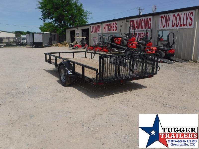 2019 Diamond C Trailers 77x14 14ft Black 2019 PSA135 Utility Trailer