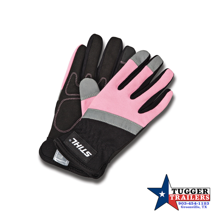 2019 Stihl Pink Padded Breathable Work Gloves Lawn