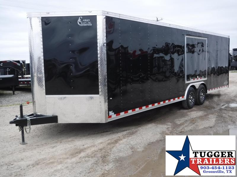 2019 Cargo Craft 8.5x31 31ft Auto Hauler Enclosed Cargo Trailer