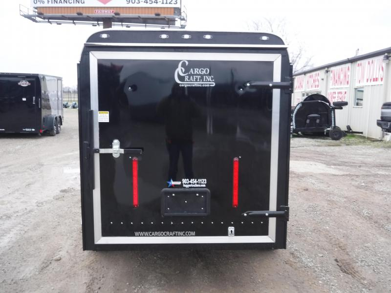 2019 Cargo Craft 5x10 10ft Black 2019 Swing Door Enclosed Cargo Trailer