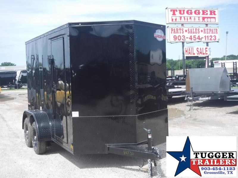 2020 Cargo Mate 6x12 12ft LE Blackout Ramp Enclosed Cargo Trailer