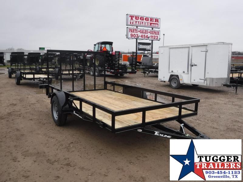 2019 TexLine Trailers 77x12 7712SA Utility Trailer