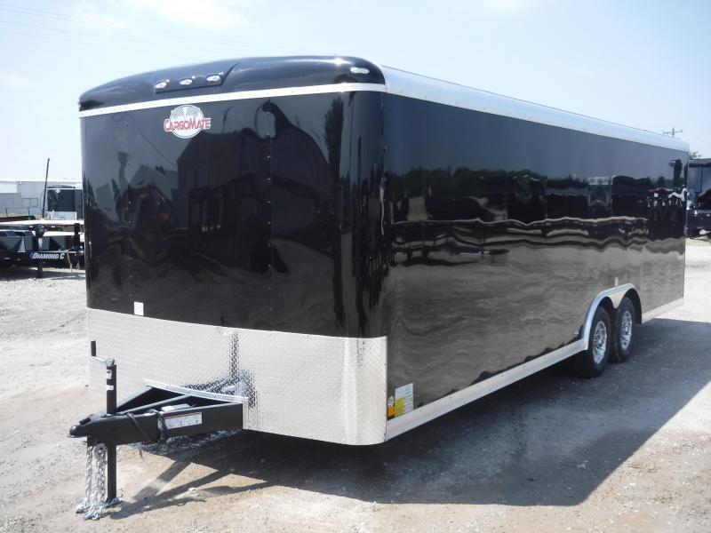 2019 Cargo Mate 8.5 x 24 Qualifier Enclosed Cargo Trailer