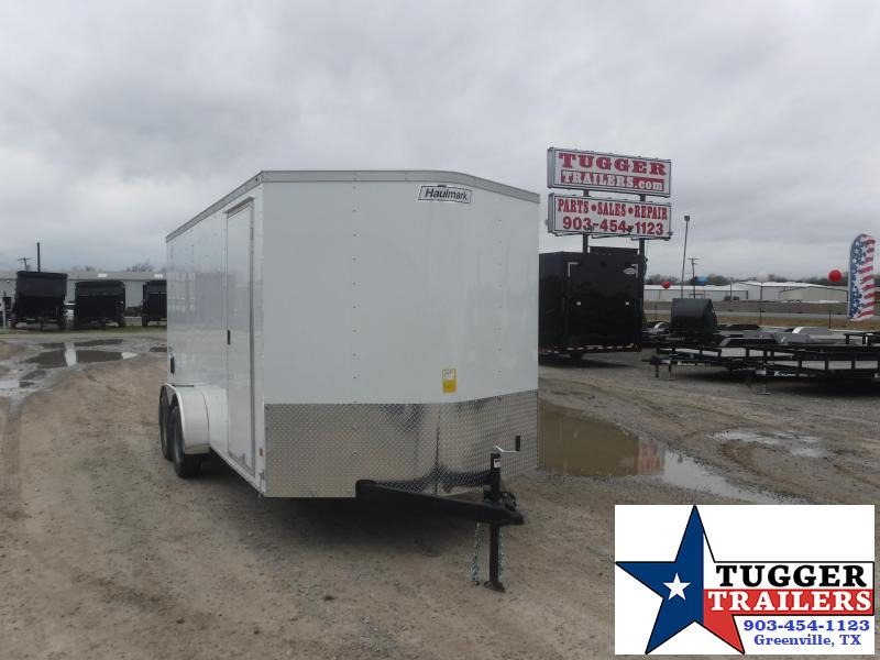 2019 Haulmark Trailers 7x16 White Enclosed Cargo Trailer