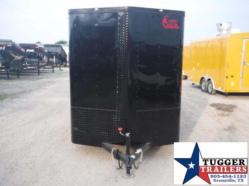 2019 Cargo Craft 6x12 12ft Elite Plus 2 V-Nose Blackout Ramp Enclosed Cargo Trailer