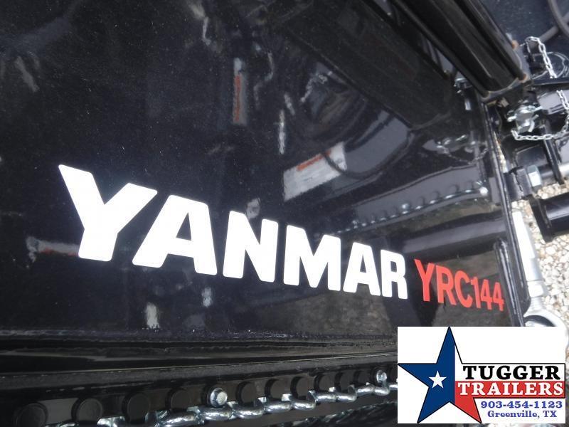 2018 Yanmar YRC144 12' Batwing Shredder Attachment