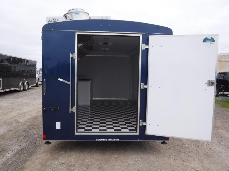 2019 Cargo Mate 8.5 x 16 Concession Trailer Enclosed Cargo Trailers