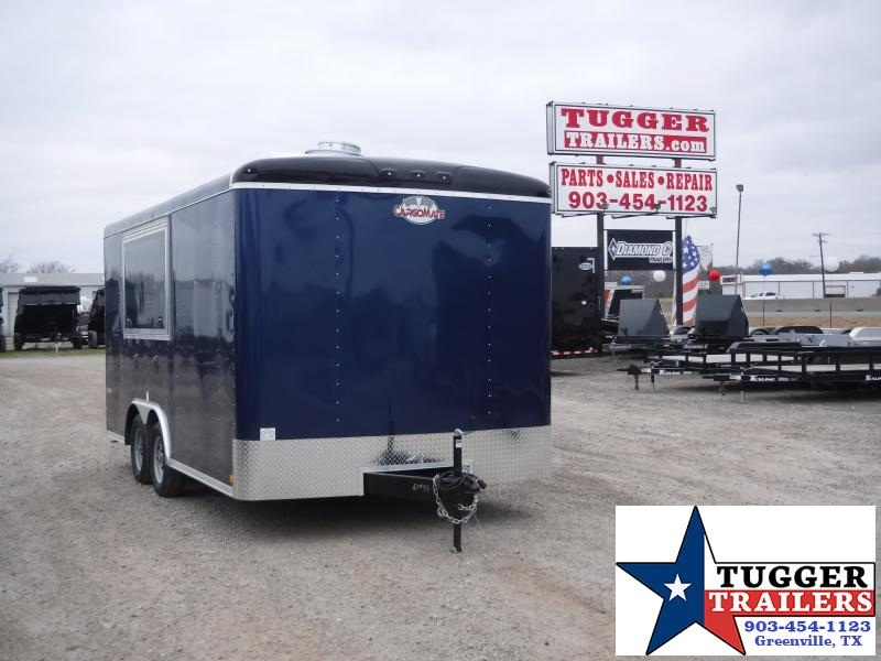2019 Cargo Mate 8.5 x 16 Concession Trailer Enclosed Cargo Trailers