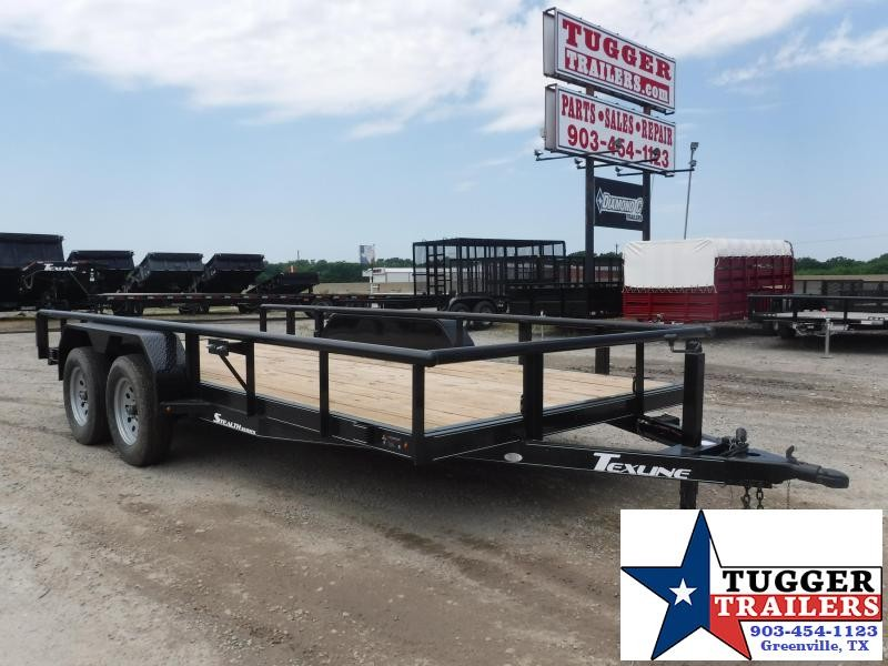 2018 TexLine Trailers Stealth F-16 Utility Trailer