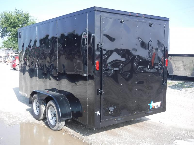 2019 T-Series 7 x 14 Cargo Trailer Enclosed Cargo Trailers