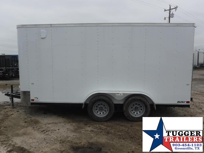 2019 Cargo Craft 7x14 14ft Ramp Enclosed Cargo Tandem Axle Trailer