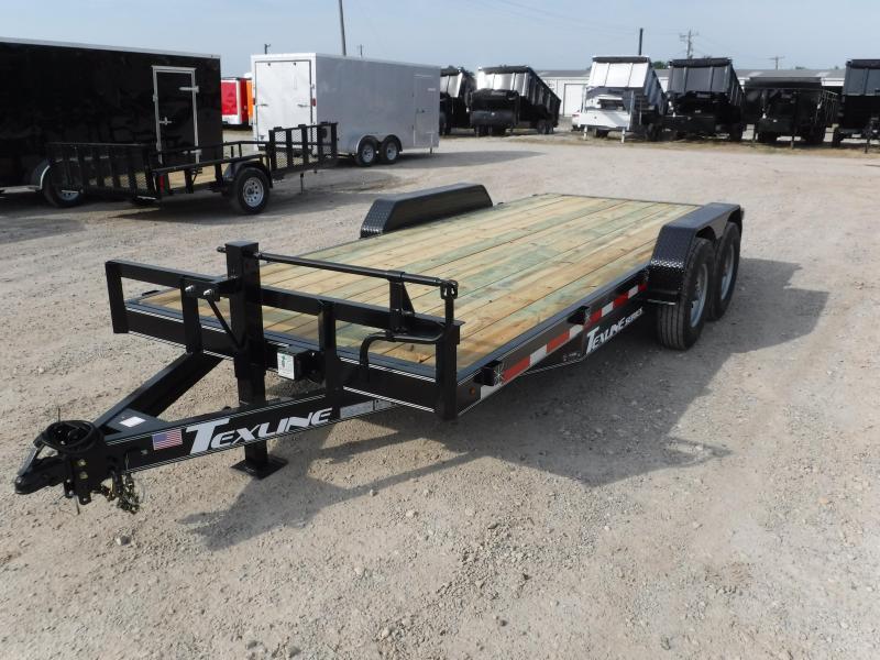 2018 TexLine 83 x 18 Bobcat Equipment Trailer