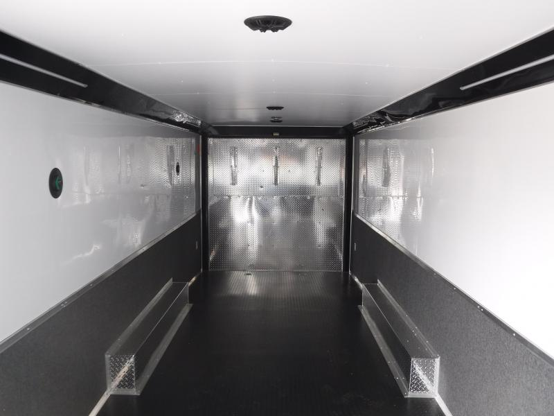 2018 Cargo Mate 8.5 X 28 NS Car / Racing Trailer