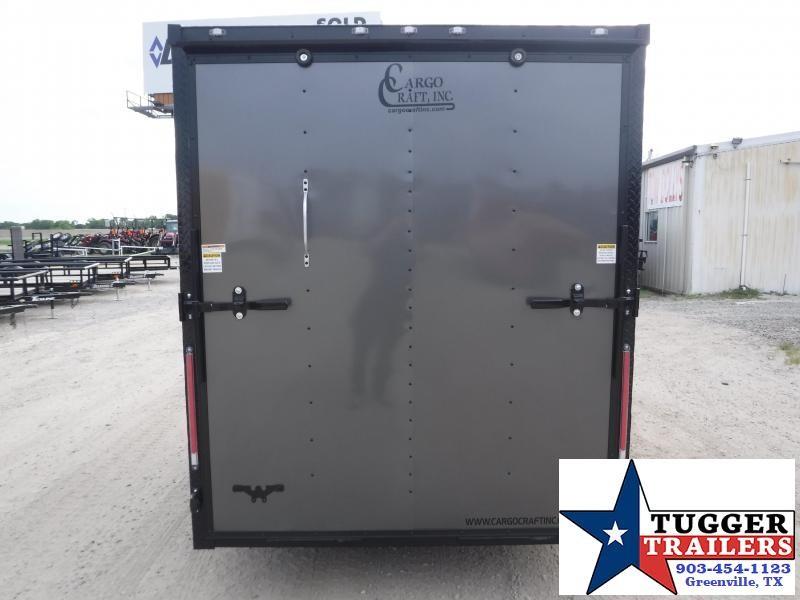 2019 Cargo Craft 6x10 10ft Elite Plus 2' V-Nose Blackout Enclosed Cargo Trailer