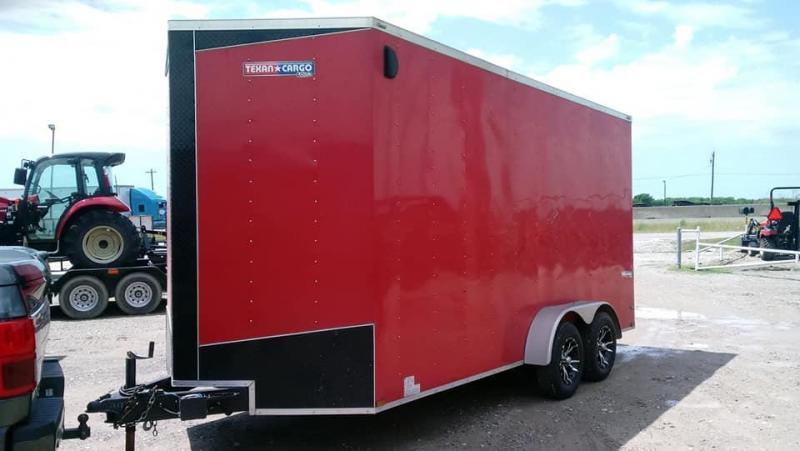2016 Used Texan Cargo Enclosed Cargo Trailer