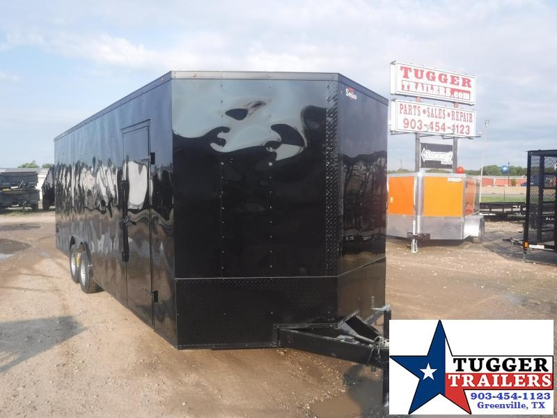 2019 T-Series 8.5 x 24 T-Series Car / Racing Trailer