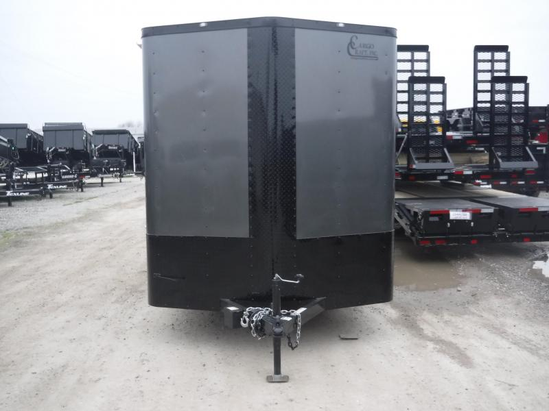 2019 Cargo Craft 7x16 16ft Charcoal Black-Out 2019 Ramp Enclosed Cargo Trailer