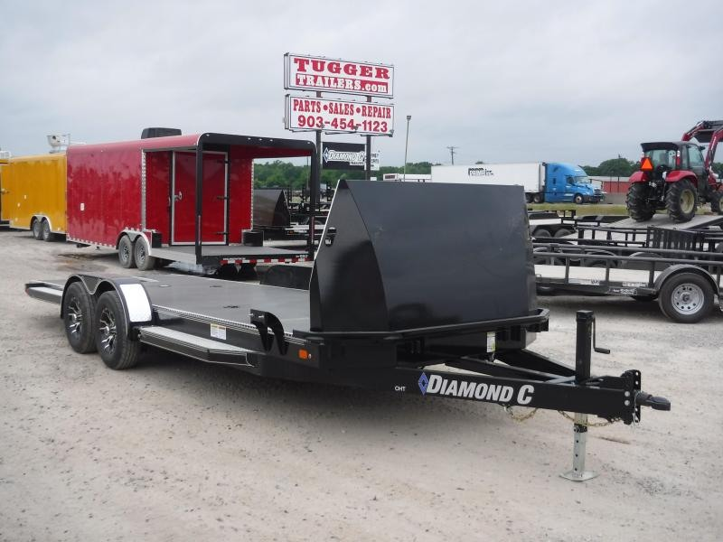 2019 Diamond C Trailers 83x22 22ft CHT252 Tilt Flatbed Car / Racing Trailer