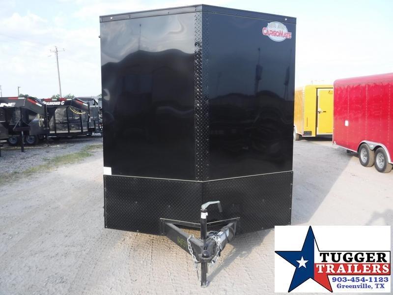 2020 Cargo Mate 7x16 16ft E-Series Blackout Ramp Enclosed Cargo Trailer