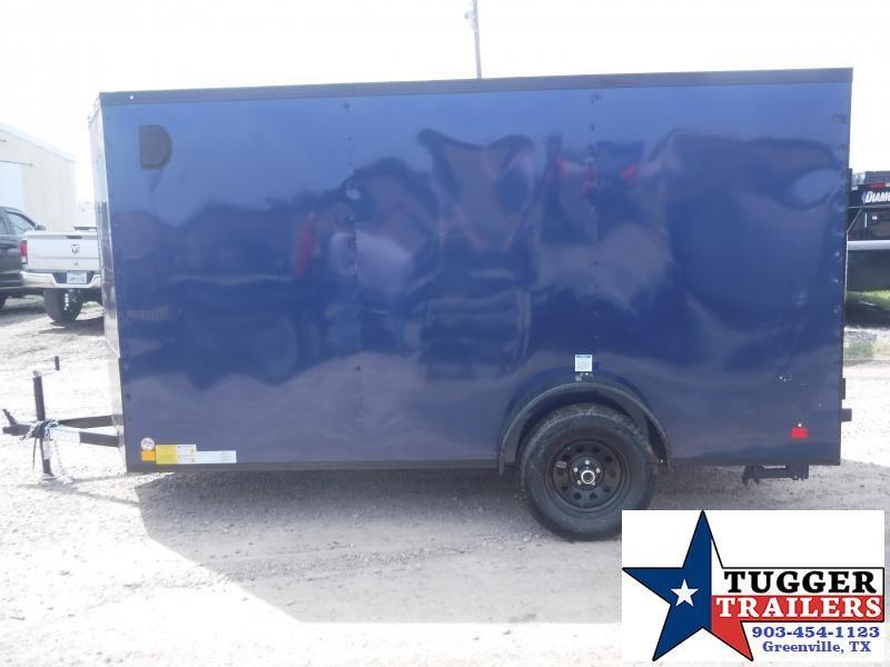 2020 Cargo Mate 6x12 12ft EV Blackout Ramp Enclosed Cargo Trailer
