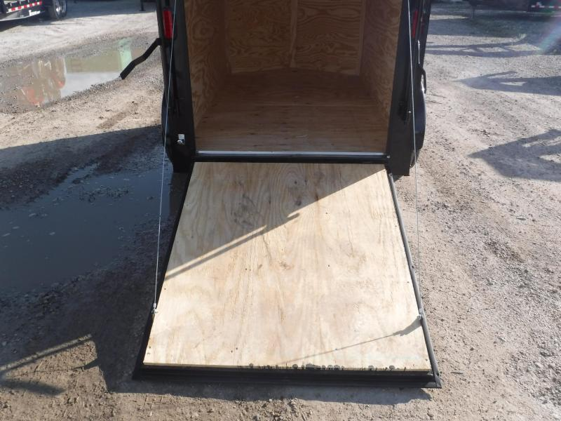 2019 T-Series 5 x 8 Black Out Trailer Enclosed Cargo Trailers