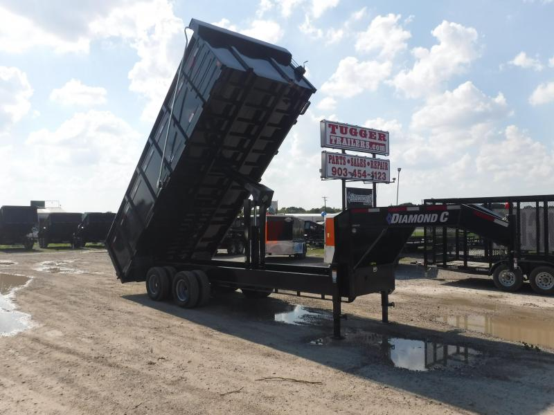 2019 Diamond C Trailers 23WFDT Goose Neck Dump Trailer