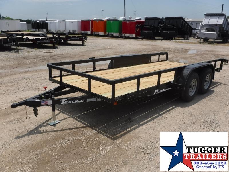 2018 TexLine 77 x 16 Patriot Equipment Trailer