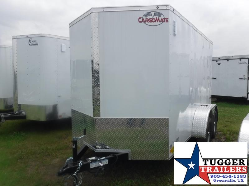 2020 Cargo Mate 6X12 12ft LE Ramp Enclosed Cargo Tandem Axle Trailer