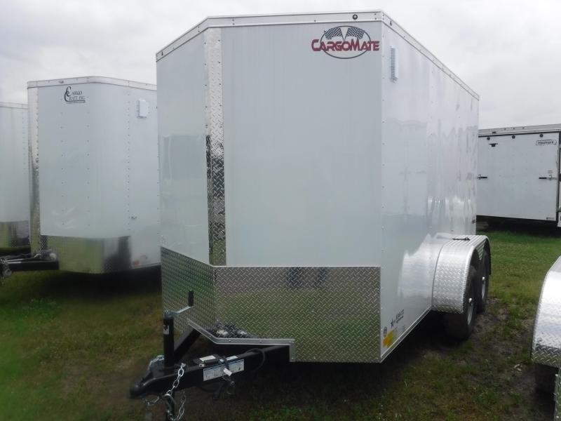 2020 Cargo Mate 6X12 12ft LE Ramp Enclosed Cargo Trailer