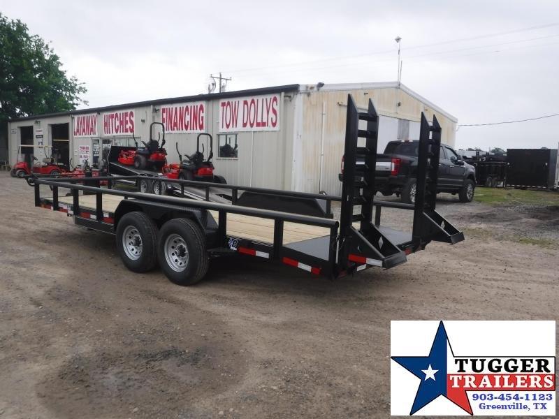 2019 Diamond C Trailers 82x20 20ft EDU207 Flatbed Utility Work Equipment Trailer