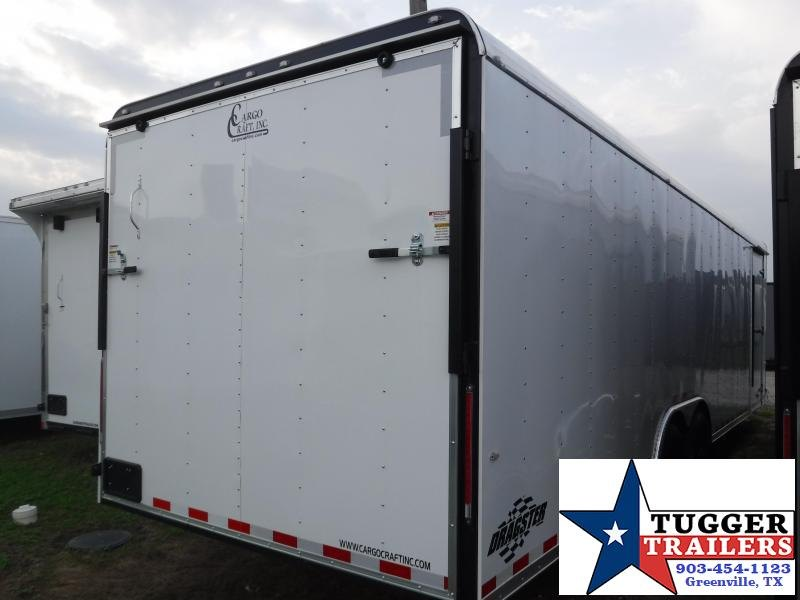 2019 Cargo Craft 8.5x28 28ft Auto Mobile Hauler Enclosed Cargo Car / Racing Trailer