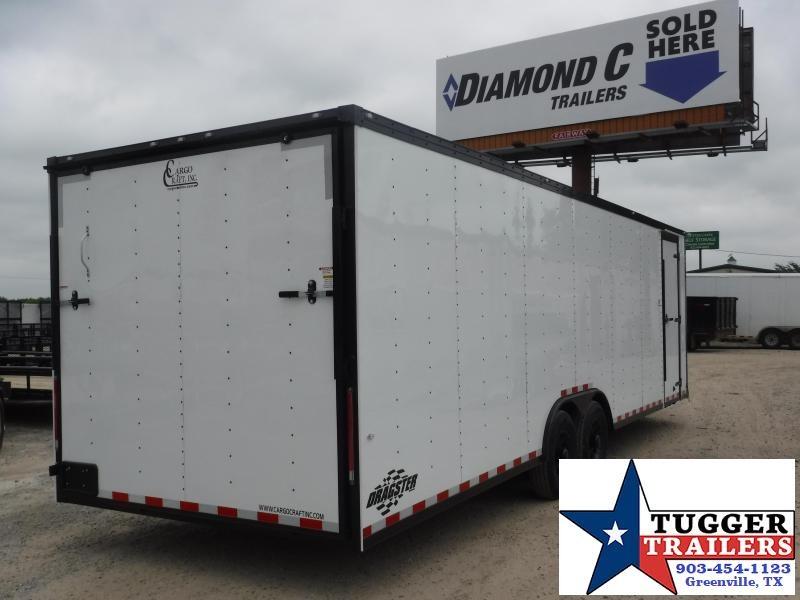 2019 Cargo Craft 8.5x31 31ft Auto Blackout Ramp Enclosed Cargo Car / Racing Trailer