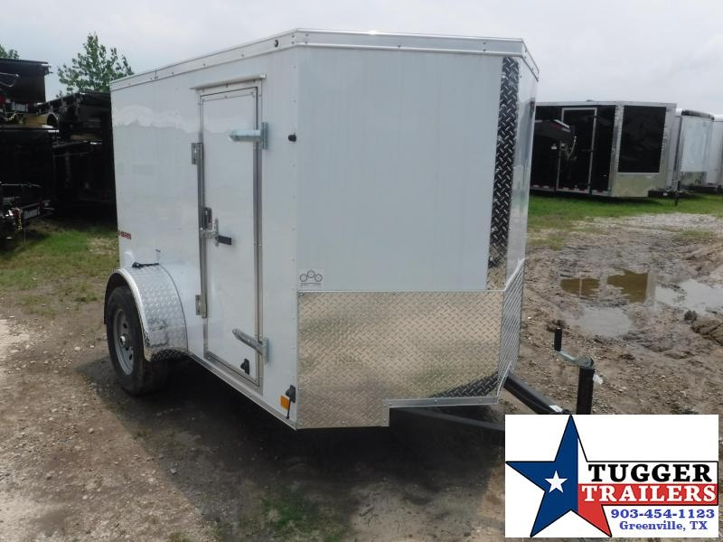 2020 Cargo Mate 5X8 8FT E-V Ramp Enclosed Cargo Single Axle Trailer