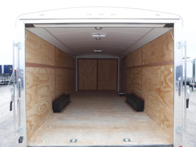 2018 Cargo Mate 8.5x24 Qualifier Enclosed Cargo Trailer