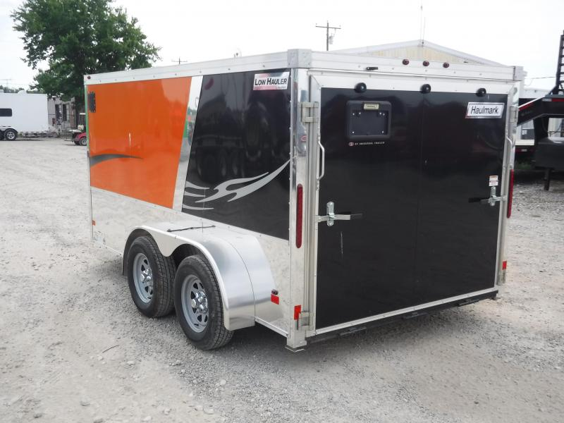 2017 Haulmark 7x12 Low Hauler Car / Racing Trailer