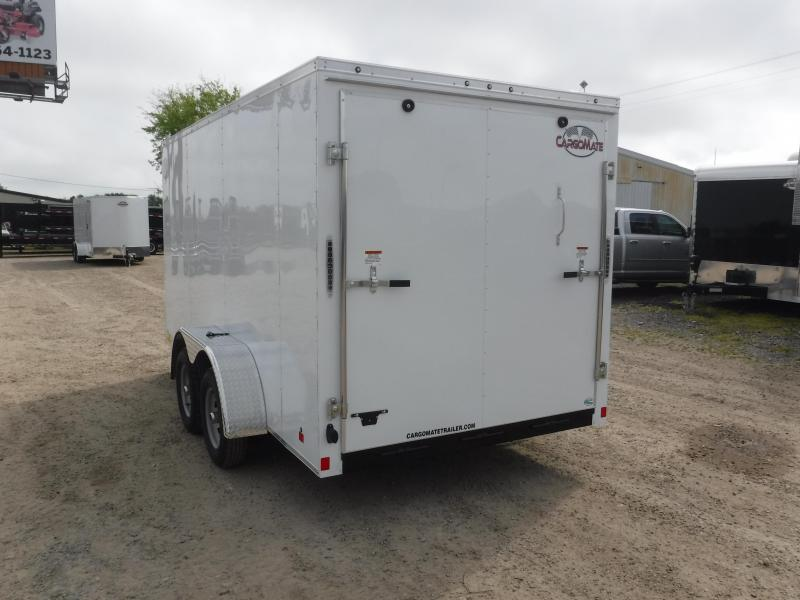 2019 Cargo Mate 7x14 14ft Tandem Axle Toy Side Hauler Enclosed Cargo Trailer