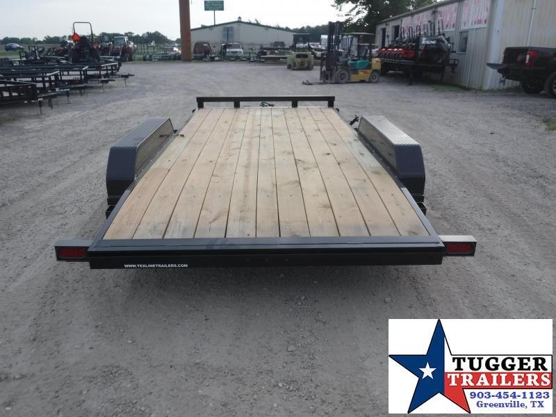 2019 TexLine 83x16 16ft Flatbed Utility Trailer