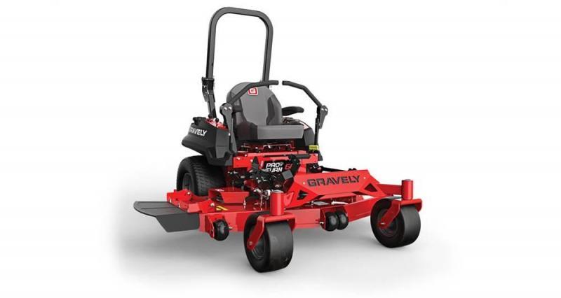 2018 Gravely Pro Turn 52 Mower Zero Turn Lawn 991216